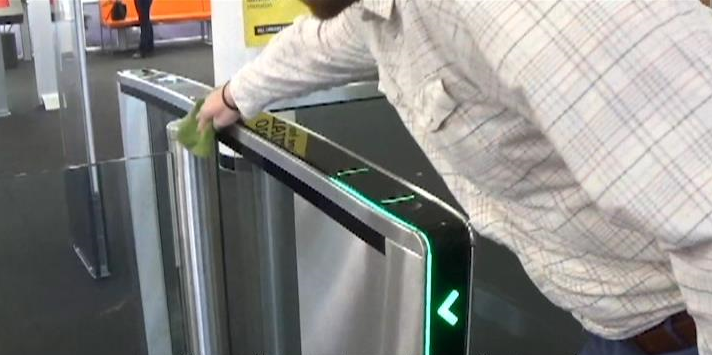 Properly Clean Your Boon Edam Revolving Doors and Turnstiles