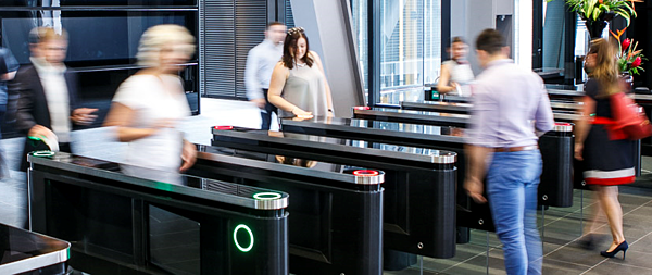Turnstiles require users to take turns, and that slows throughput down during busy periods