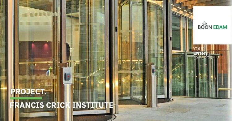 Project Francis Crick Instituut - Beveiliging onderzoekscentra | Boon Edam
