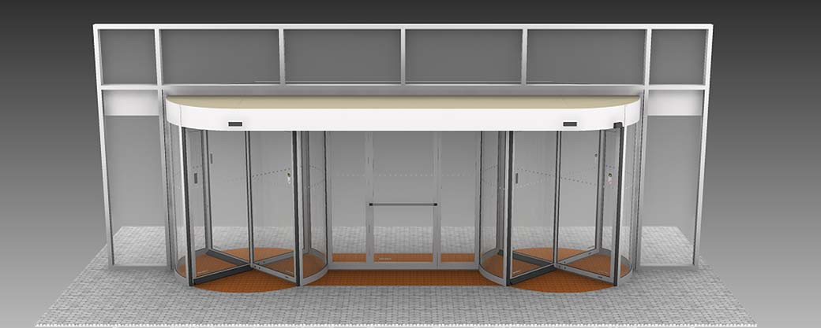 Multi Functional Entrance concept | Boon Edam