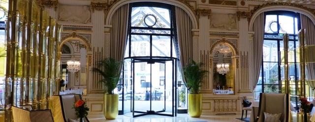 Péninsula Hotel Parijs tourniquetdeur   Boon Edam