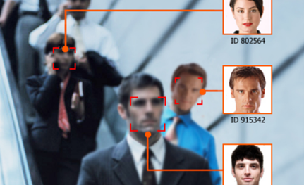 Boon Edam security doors and turnstiles can integrate with facial recognition devices