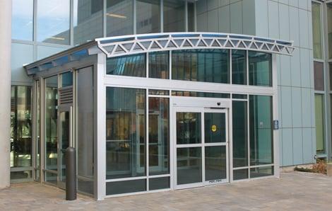 Entrance vestibules help energy conservation