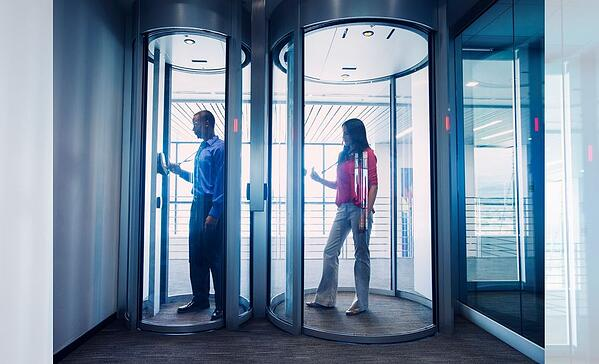 Security Portals Provide the Highest Level of Assurance Against Unauthorized Entry with Biometric Devices
